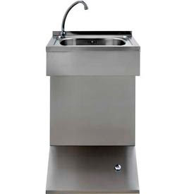 Intersan Stainless Steel Hands-Free Wash Stations