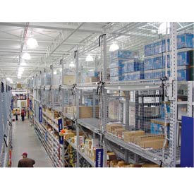 DBI/SALA - Pallet Rack Netting & Accessories (2,500 & 4,000 lb Load Ratings)