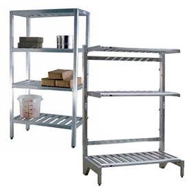 Aluminum Adjustable Shelving Components