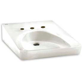American Standard 9141.011.020 Wheelchair Users Bathroom Sink