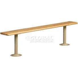 Tennsco Hard Wood Locker Bench