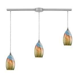 ELK Medium Base Pendants, 3 Bulbs - 60W