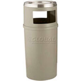 Rubbermaid® Steel Ash Trash Containers