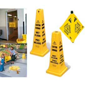 Rubbermaid® Safety Signs, Cones & Spill Pads