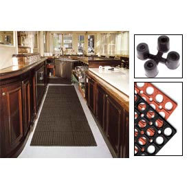 "7/8"" Thick Cushioned Comfort Drainage Matting"