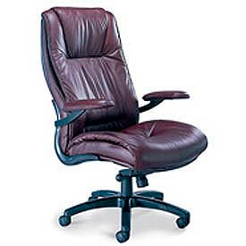 Mayline® Ultimo Series 100 Leather Chairs