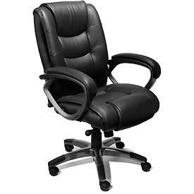 Mayline® Ultimo Series 500 Leather Chairs