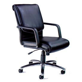 Mayline® Mercado Alliance Leather Chair