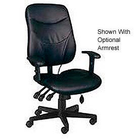 Mayline® Comfort Series Leather Task Chairs