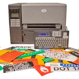 labels machines: