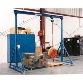 Gorbel® Adjustable Height Steel Gantry Cranes