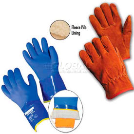 Cut Resistant/Cold Resistant PVC Dipped Gloves