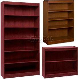 Lorell® Hardwood Veneer Bookcases