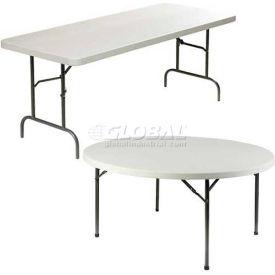 Lorell® Ultra-Lite Polyethylene Folding Tables