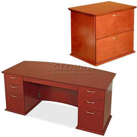Lorell® 9000 Series - Transitional Veneer Office Furniture