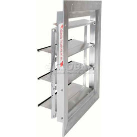 Aluminum Supply (Intake) Wall Shutters