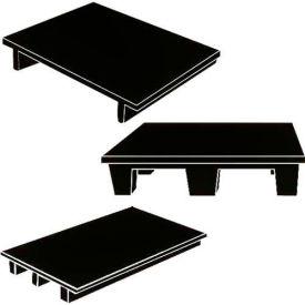 MasonWays™ Heavy-Duty Plastic Merchandiser and Display Base Pallets