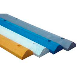 Lightweight 72 Inch Long Recycled Plastic Parking Curb