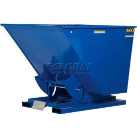 Self Dumping Steel Forklift Hoppers With Bumper Release