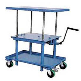 Mechanical Work Positioning Post Lift Tables