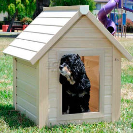 New Age Pet® ecoConcepts™ Rustic Lodge Dog House