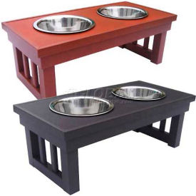New Age Pet® Habitat 'N Home Raised Double Diner