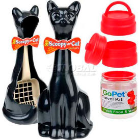 New Age Pet® Animal GoPet Travelor & Scoop Holders