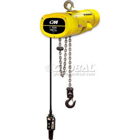 Columbus McKinnon (CM) Man Guard Electric Hoists