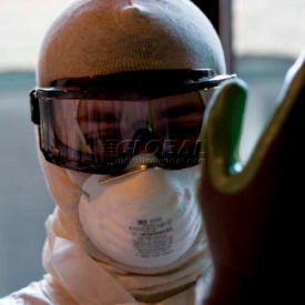 Sprayed Safety Goggles