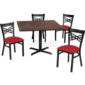Premier Hospitality Furniture - Table & Criss-Cross Back Chair Set