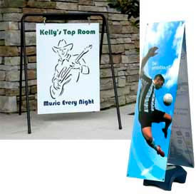 SpeedPress® - Banner & Sign Stands