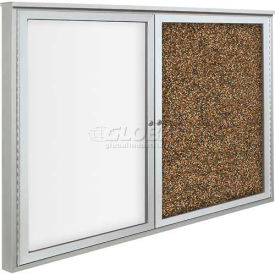 Best-Rite™ Weather Sentinel Enclosed Bulletin Board Cabinet