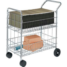 Fellowes® Wire Mail & Office Cart