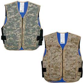 Hybrid Cooling Military Vests