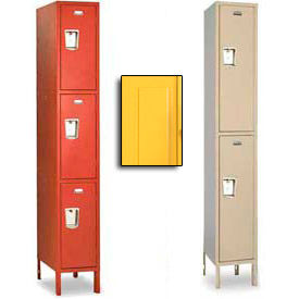 Penco Guardian Medallion Double and Triple Tier 1-Wide Steel Lockers