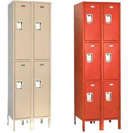 Penco Guardian Double & Triple Tier 2-Wide Steel Lockers