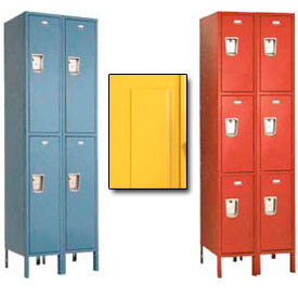 Penco Guardian Medallion Double and Triple Tier 2-Wide Steel Lockers