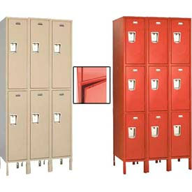 Penco Guardian Plus Double & Triple Tier 3-Wide Steel Lockers