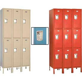 Penco Guardian Defiant II Double & Triple Tier 3-Wide Steel Lockers