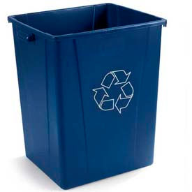 Carlisle 56 Gallon Hooded Top Recycling Container