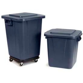 Carlisle Bronco™ Square Waste Containers & Lids