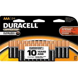 Duracell® Coppertop®  Batteries w/ Duralock Power Preserve™