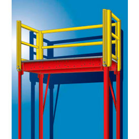 Double-Slotted Pre-Configured Pallet Rack Starter & Add-On Units