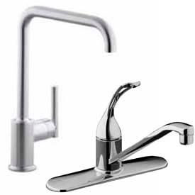Deck Mounted Kitchen Faucets