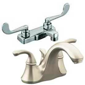 Centerset Deck Mounted Lavatory Faucets