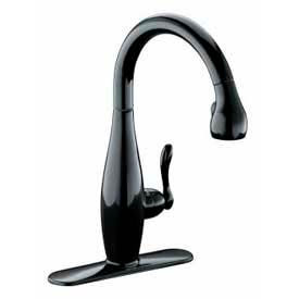 Deck Mounted Kitchen Faucets With Pull Out Sprays