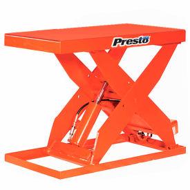 PrestoLifts™ HD Scissor Lift Table XL48-20H 64x24 Hand Operated 2000 Lb.