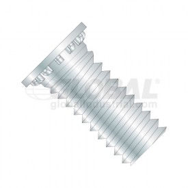Self Clinching Stud Full Thread Hardened Steel Heat Treat Zinc & Bake Metric