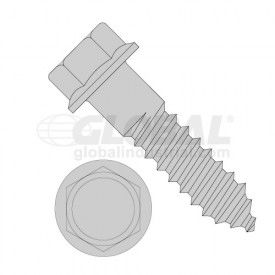 Indented Hex Flange Lag Screws
