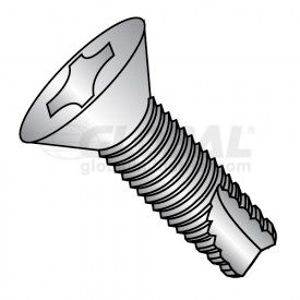 Phillips Flat Head Thread Cutting Screws Type 23 Thread